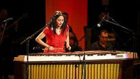 نسمة عبدالعزيز تبهر جمهور الأوبرا بعزفها