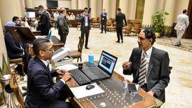 مجلس الشيوخ يفتح أبوابه أمام الأعضاء ويستخرج الكارنيهات لـ53 نائباً فى اليوم الأول