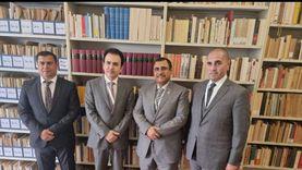 رئيس البرلمان العربي يلتقي وزير الأوقاف بإقليم كردستان العراق