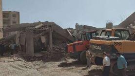 وزيرة التضامن: تقديم أوجه الدعم للمضارين من انهيار عقار المحلة