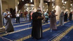 موعد صلاة التراويح في المساجد رمضان 2021