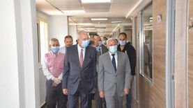 جولة تفقدية لمحافظ بورسعيد ورئيس الهيئة الاقتصادية بالديوان العام
