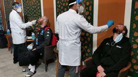 اللجنة الطبية لكأس كرة اليد تجري 2249 تحليل pcr في 24 ساعة