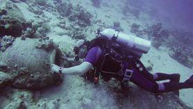 البعثة الأثرية لجامعة الإسكندرية تكشف مقدمة سفينة تعود للعصر العثماني