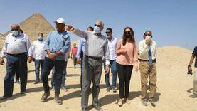 محافظ الجيزة يتابع أعمال إزالة العقارات بمنطقة «سن العجوز»