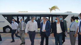 وزراء الطيران والسياحة والآثار والبيئة والإعلام يتفقدون مطار شرم الشيخ
