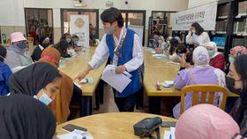 جمهور مكتبة مصر العامة ببورسعيد في ضيافة «الثقافة الكورية»