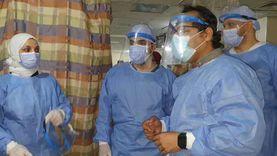رئيس «الطب العلاجي» يتفقد مستشفيات الغربية