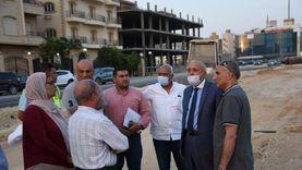 مسؤولو الإسكان يتابعون مشروعات تطوير محاور وطرق ومرافق القاهرة الجديدة