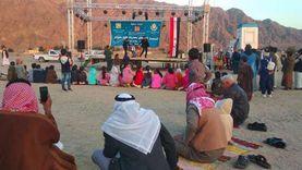 انطلاق فعاليات المسرح المتنقل بوادي ميعر في جنوب سيناء