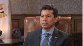 وزير الرياضة: المجتمع يتحرك لبناء دولة حديثة مختلفة وشباب مصر واعٍ