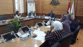 نائب رئيس جامعة بنها يترأس اجتماع اللجنة العليا لتطوير التعليم