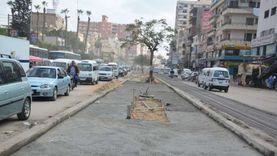 """رئيس """"تعمير القاهرة الكبرى"""" يتفقد تطوير شارع فريد ندا ببنها"""