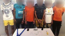 ضبط «عصابة الموتوسيكلات» في أكتوبر: ارتكبوا 14 واقعة سرقة
