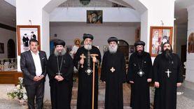 الكنيسة: الهيئة الهندسية تقوم بإنشاءات بديلة لسور دير أبي سيفين