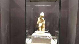 """""""جت الحزينة تفرح"""".. تمثال فريد بمتحف كفر الشيخ عثر عليه صياد صدفة"""