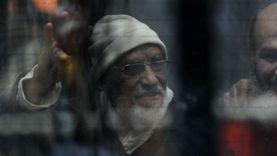 """تأجيل طعن بديع والبلتاجي ونجل مرسي في """"اعتصام رابعة"""" لـ12 أكتوبر"""