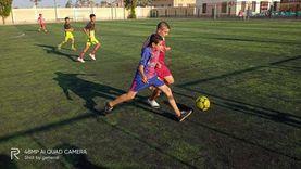 """""""شباب ورياضة"""" دمياط تنفذ تدريبات للفن التشكيلي وكرة القدم"""