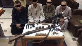 ضبط تشكيل عصابي تخصص في الإتجار بالأسلحة والذخائر بقنا.. بينها إسرائيلية الصنع