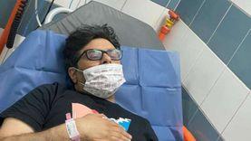 تفاصيل الحالة الصحية للمنتج وليد منصور بعد دخوله المستشفى: حصوة بالكلى