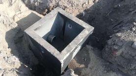 """""""مياه القليوبية"""": تنفيذ أعمال غرف صرف الأمطار بـ27 مليون جنيه"""
