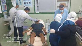 جثتان و3 إصابات بينهم لاعب كرة قدم في 3 حوادث بالغردقة ورأس غارب