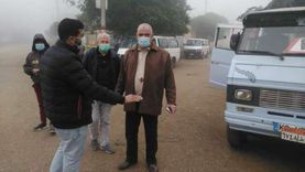 تغريم 30 مواطنا لعدم ارتداء الكمامة في الشرقية