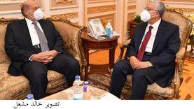 رئيس النواب لأمين الجامعة العربية: مصر تدعم مواقف وقضايا الأمة
