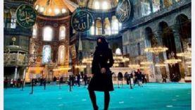 أزهريون يهاجمون ظهور ممثلة إباحية بمسجد أيا صوفيا: إساءة لبيوت الله