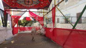 المواطنون يتوافدون على لجان حلوان مع فتح باب التصويت لانتخابات الشيوخ