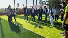 علي جمعة يهزم وزير الرياضة (3 – صفر) في ركلات الترجيح