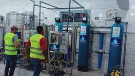 الأورمان و«قنديل مصر» تهديان مستشفى المنزلة محطة معالجة مياه غسيل كلوي
