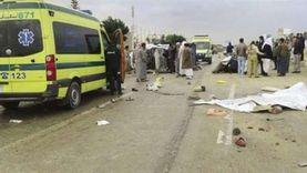 إصابة 9 أشخاص في حادثي «توك توك» بالبحيرة
