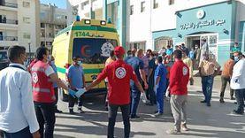 «شوشة» يزور جرحى ومصابي فلسطين.. ويؤكد توافر الرعاية الصحية لهم