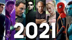 تفاصيل 8 أفلام «أكشن» تُعرض في دور السينما خلال 2021