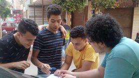كواشف حرارية وبوابات تعقيم تستقبل طلاب الثانوية أمام لجان القليوبية