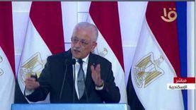 وزير التعليم: إغلاق المدارس مش على الترابيزة دلوقتي خالص