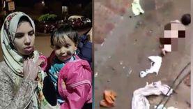 والدة طفلة التعرية: جوزي مفتري كان هيحرق بنتي عشان ينتقم مني