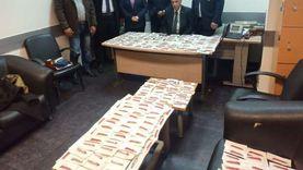 جمارك مطار القاهرة تحبط محاولة تهريب كمية من المستلزمات الطبية