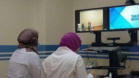 مناظرة حالات مرضية بالفيديو في العيادة الذكية بمطروح