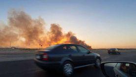 عاجل.. حريق هائل في الغابة الشجرية بالغردقة والحماية المدنية تحاصر النيران
