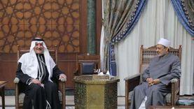 شيخ الأزهر يستقبل سفير السعودية بالقاهرة