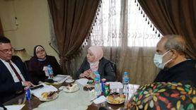 محافظة القاهرة تبحث عن حل لأزمة الباعة الجائلين في حلوان