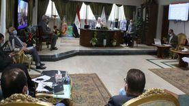 محافظ جنوب سيناء يتابع معدلات تنفيذ مشروعات مياه الشرب والصرف الصحي