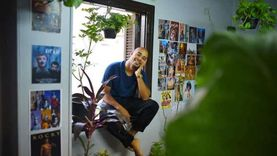 «طه» صعيدي انتقل لقاهرة المعز عشان عيون الكاميرا (صور)