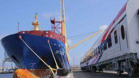 تداول 105875 طنا و2655 حاوية و9837 شاحنة عامة بميناء الإسكندرية