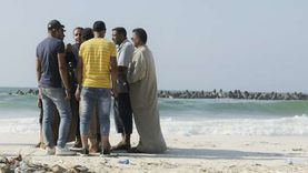 """لليوم السابع.. استمرار البحث عن جثة """"شادي"""" ضحية شاطئ النخيل"""