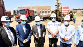 محافظ الغربية يشهد بدء أعمال الحفر بمشروع فندق «الشانزليزيه»