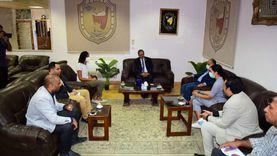 جامعة سوهاج تناقش تطوير صناعة «اللوف» مع منظمة «إنرووت للتنمية»