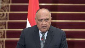 شكري: صبر مصر في مفاوضات سد النهضة يُوكد حسن نيتها